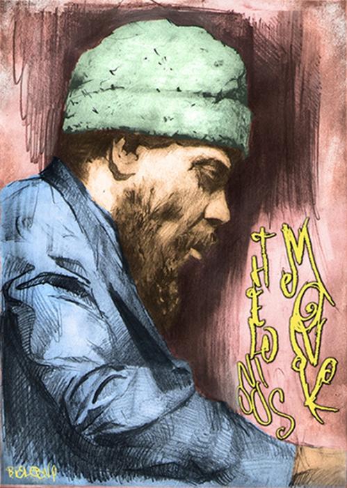Thelonious Monk by Bielu